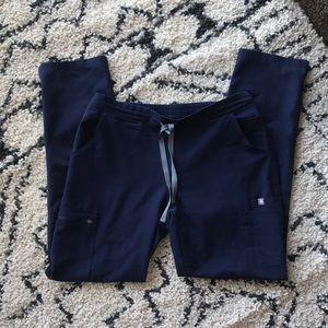 Figs Yola Navy Blue Scrub Pants